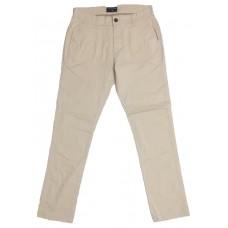 Slim-Fit Gabardine Pants - Off White