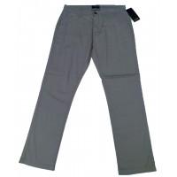 Slim-Fit Gabardine Pants - Ash