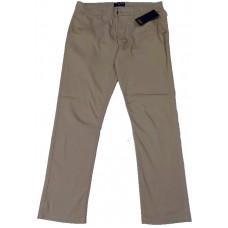 Slim-Fit Gabardine Pants - Khaki